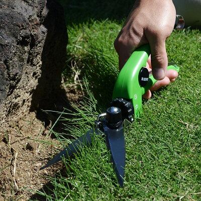 サボテンネ・プラス・ウルトラ芝刈りはさみ(芝刈りばさみ)回転タイプ芝生鋏フッ素コート刃340mmNo.1080