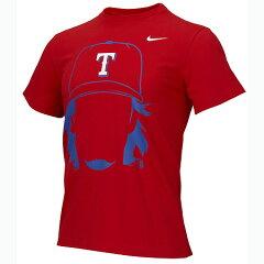 数量限定!数量限定 ナイキ テキサス レンジャース ダルビッシュ選手 フェイス Tシャツ レッド