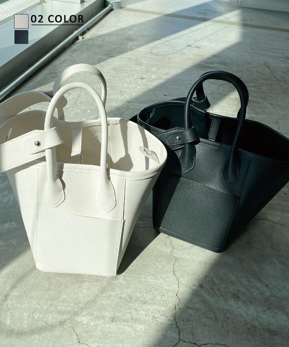 【3/12 NEW】2wayシンプルハンドバッグ
