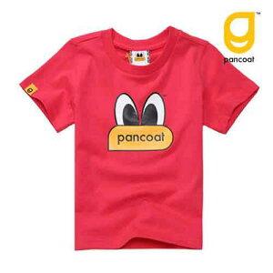 【正規品】PANCOAT パンコート キャラクター T-シャツ POPEYES KIDS T-SHIRTS (MACAWS RED) 半袖 夏 可愛い Tシャツ 韓国子供服 キッズ ジュニア 子供服 男の子 女の子 ダンス