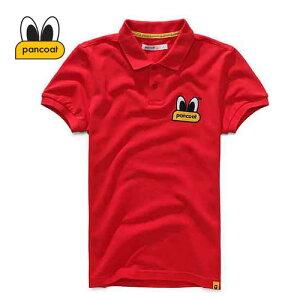 【正規品】PANCOAT パンコート ポロシャツ キャラクター T-シャツ 122 POPEYES P.Q (TOMATO RED) 半袖 夏 Tシャツ メンズ レディース POPEYES