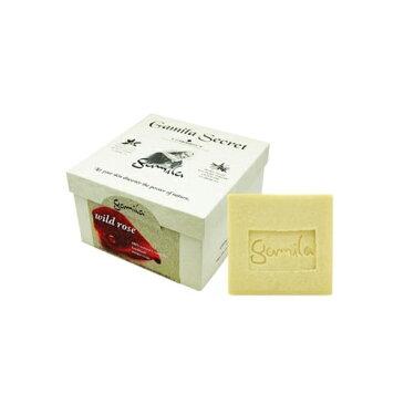 ガミラシークレット ワイルドローズ 115g【人気】【激安】【Gamila Secret】【洗顔石鹸】