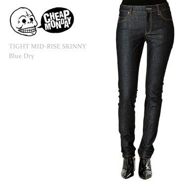 Cheap Monday(チープマンデー) TIGHT Mid-Rise Skinny Blue Dry スキニー/スキニーデニム