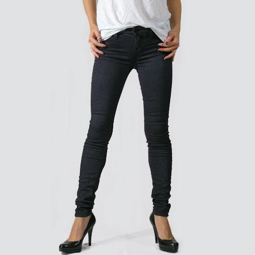 【SALE】J Brand(ジェイブランド・ジェーブランド)815 Mid-Rise Super Skinny Leg Blue Nebulaスキニーデニム/カラーデニム