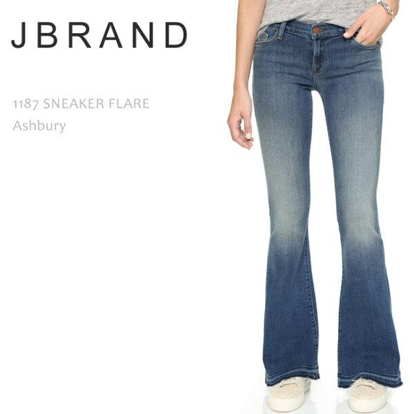 SALE JBrand(ジェイブランド・ジェーブランド)1187MIDRISESNEAKERFLAREAshbury  ブーツ