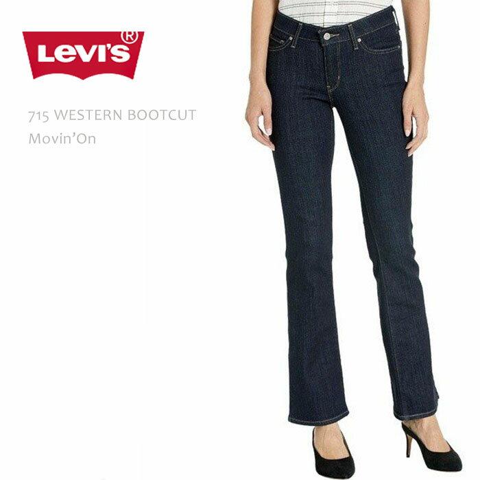 【SALE】Levi'sリーバイス715MIDRISEBOOTCUTMovin'Onリーバイス715ブーツカットミッドライズブーツカットデニムウエスタンブーツきれいめデニムレディースジーンズ