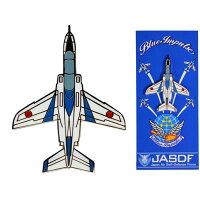 自衛隊グッズピンズピンバッジブルーインパルスT-4(真上)