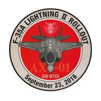 自衛隊グッズ耐水性ステッカー航空自衛隊F-35初号機ロールアウト記念