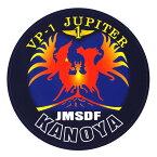 自衛隊グッズ 耐水性ステッカー 鹿屋航空基地 第1航空隊