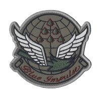 自衛隊グッズワッペンBlueImpulseブルーインパルスエンブレムロービジ