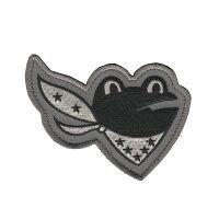 自衛隊グッズワッペン百里基地第301飛行隊ガマガエル尾翼マーク左向きロービジパッチ
