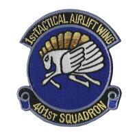自衛隊グッズワッペン航空自衛隊小牧基地第401飛行隊ブルーバージョンパッチ