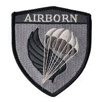 自衛隊グッズワッペン陸自習志野第1空挺団ロゴマークパッチハイビジバージョン