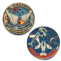 自衛隊グッズブルーインパルス50周年記念メダル