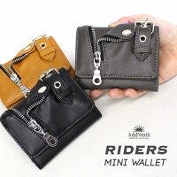 ライダースミドル財布