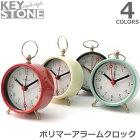 キーストーン【KEYSTONE】ポリマーアラームクロック時計掛け時計置き時計ヴィンテージレトロおしゃれ【あす楽】アンソロポロジー風