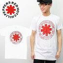 レッド・ホット・チリ・ペッパーズ【Red Hot Chili Peppers】BASIC WHITE ホワイト ベーシック Tシャツ ロックT バンドT ヒップホップ ロゴT 正規品 本物 サマソニ レッチリ【ネコポスのみ送料無料】