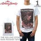 ザ・ローリングストーンズ【THE ROLLING STONES】Keith Richards キースリチャーズ WHITE/ホワイト Tシャツ ロックT バンドT ヒップホップ ロゴT 正規品 本物【あす楽】メール便可