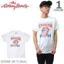 ザ・ローリングストーンズ【THE ROLLING STONES】 STONE 94 WHITE ホワイト Tシャツ ロックT バンドT ヒップホップ ロゴT 正規品 本物【あす楽】メール便可