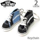 バンズ【VANS】Keychainキーホルダーギフトプレゼントリング靴ミニチュアアクセサリー鍵カギ誕生日車カーキーリングレッドブラックVNOOOLT3NAVY/BLACK