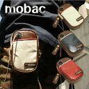 mobac モバック スタイリッシュなツートンカラーのスマホケース ツートンカラー スマホケース ウエストポーチ ストラップ付