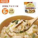 非常食 ご飯 5年保存 尾西の山菜おこわ 100g アルファ米スタンドパック [M便 1/4]の商品画像