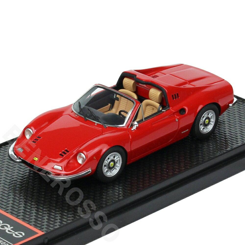車・バイク, クーペ・スポーツカー BBR MODELS 143 Dino 246 GTS 1972 Rosso Corsa BBRC054A