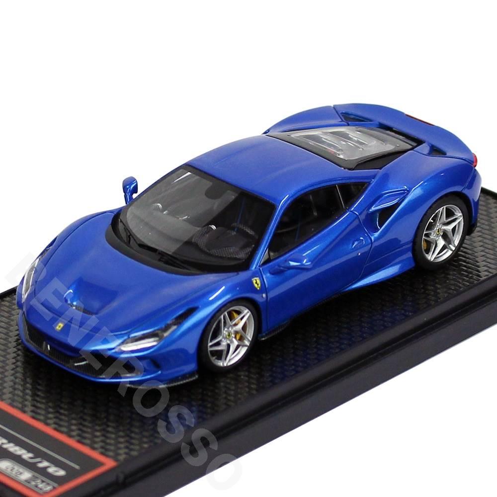 車・バイク, クーペ・スポーツカー BBR MODELS 143 F8 2019 Blue Corsa BBRC224B