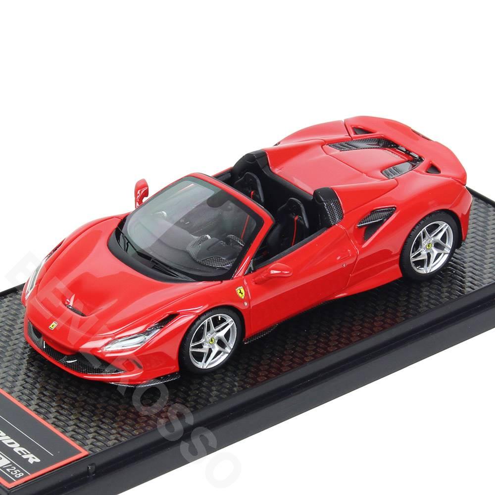 車・バイク, クーペ・スポーツカー BBR MODELS 143 F8 Spider Rosso Corsa BBRC232B