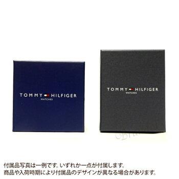 トミーヒルフィガーTOMMYHILFIGER時計メンズ腕時計46mmゴールド×ブラウン1791003【ギフト】[在庫あり]