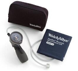 ウェルチアレン 血圧計デュラショック DS66 ハンド型 5098-27★成人用(中)カフ、ソフトケースセット