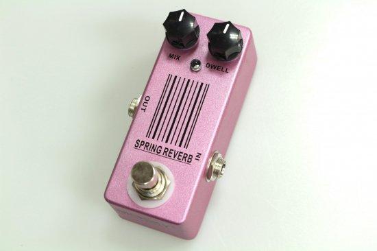 ギター用アクセサリー・パーツ, エフェクター newMOSKY AUDIO Micro Pedal pink Spring REVERB (Malekko Spring Reverb)