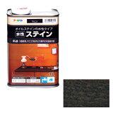 【あす楽対応・送料無料】アサヒペン水性ステイン1Lブラック