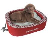 ソフトベッド ユナイテッドペッツ スノーフィーベッド Mサイズ 全3色 UNITED PETS 【犬/ベッド/】