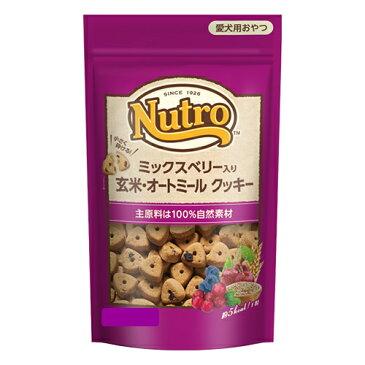 100%自然素材 ニュートロ ミックスベリー入り 玄米・オートミール クッキー 40g【犬/おやつ/アレルギー】