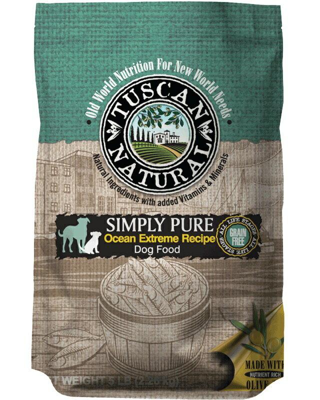 [オリーブオイル配合]タスキャンナチュラル シンプリーピュアフィッシュレシピ ドッグフード 6kg グレインフリー【正規品/アレルギー/無着色/犬】
