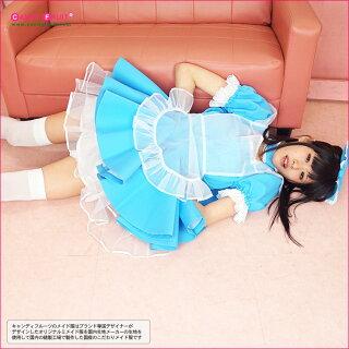 【9/14まで特別価格♪】XLまで4サイズあり♪カチューシャがリボンになっちゃった!ニコレッタメイド服(アリス)【送料無料】
