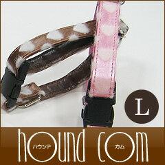 愛犬 首輪 ASHU*スイートハート カラー Lサイズ[首周り38~58cm]