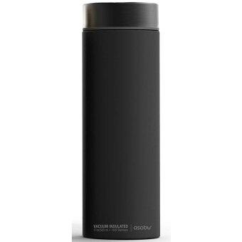 水筒 asobu ファッションボトル LE BATON 500ml ステンレスボトル 直飲み 保温保冷 真空断熱 ドリンクボトル アソブ アソブ トラベルボトル ル・バトン ブラック スモーク
