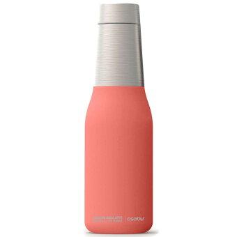 水筒 asobu ファッションボトル OASIS 600ml ステンレスボトル 直飲み 保温保冷 真空断熱 ドリンクボトル アソブ アソブボトル オアシス ピーチ