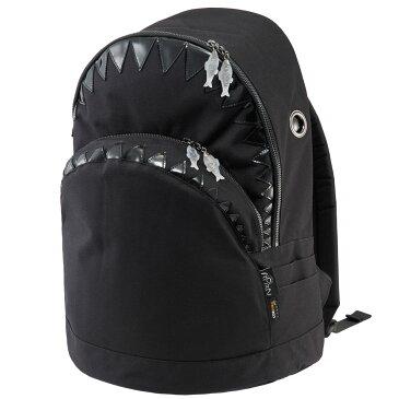 【先着順プレゼントあり】リュック MORN CREATIONS シャーク バックパック LL 限定生産 ザック リュックサック モーンクリエイションズ サメ LLサイズ ブラック