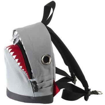 リュック MORN CREATIONS シャーク バックパック S ザック リュックサック モーンクリエイションズ リュック サメ Sサイズ グレー
