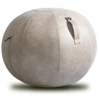 シーティングボール Vivora ルーノ レザーレット 合皮 バランスボール ヴィボラ LUNO LEATHERETTE ライトグレー
