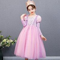 ラプンツェルパープルプリンセスドレスコスプレドレス子供ドレス衣装仮装CEL-134C252 セルビッシュアップ