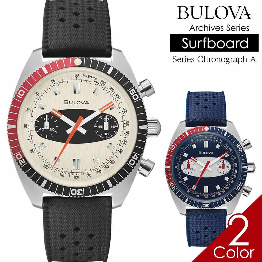 腕時計, メンズ腕時計  BULOVA A BULOVA Chronograph A 98A252 98A253