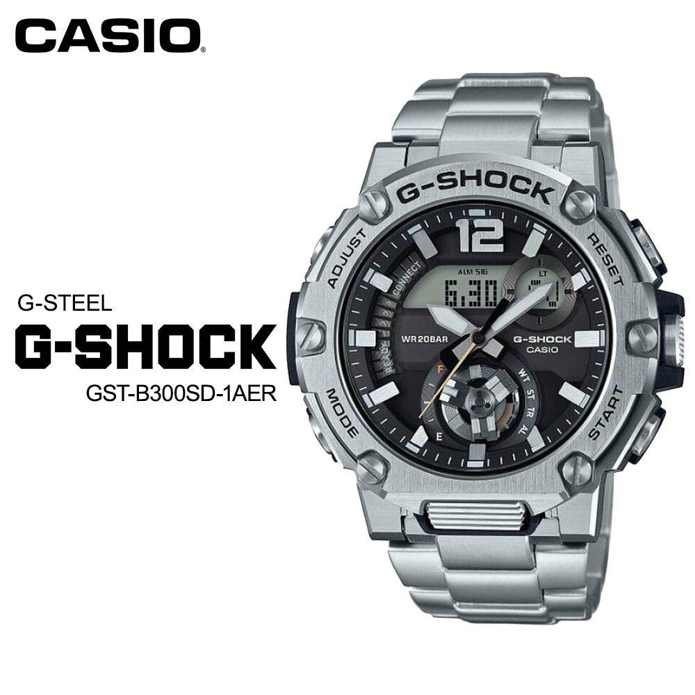 腕時計, メンズ腕時計  CASIO G-SHOCK G G-STEEL GST-B300SD-1AER ( GST-B300SD-1AJF)