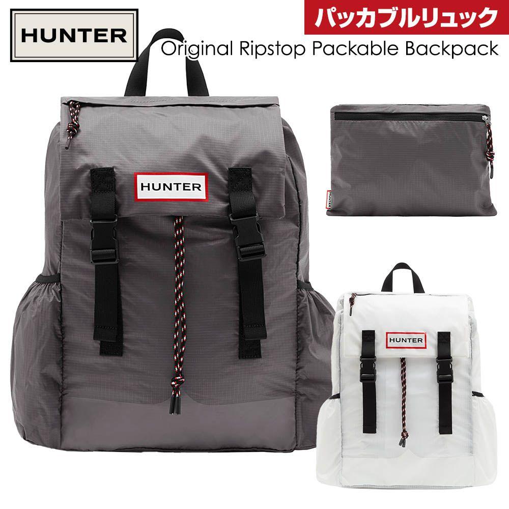 男女兼用バッグ, バックパック・リュック  HUNTER Original Ripstop Packable Backpack UBB1157KBM-REM UBB1157KBM-SRR