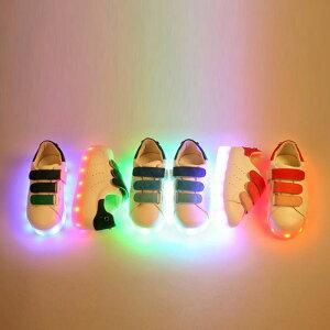 光る靴 光る 充電式 シューズ ソールライト 光るスニーカー ソールライトシューズ LEDライト こども キッズ 14cm 15cm 16cm 17cm 18cm 19cm 20cm 21cm 22cm子供靴 男の子 女の子 お洒落 カワイイ カッコイイ お洒落キッズ ファッション 韓国子供服 【あす楽】