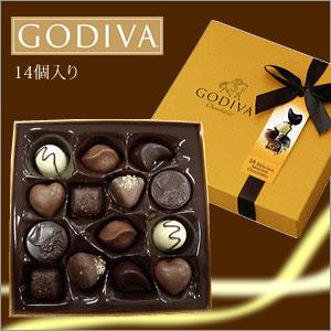 【5250円以上で送料無料!】ゴディバ GODIVA godiva 14粒入り チョコレート チョコ 高級