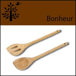 木製キッチンスプーン&スパチュラセット
